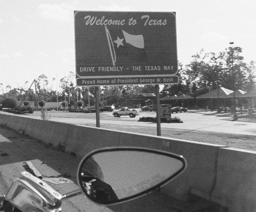 Louisiana/Texas Border