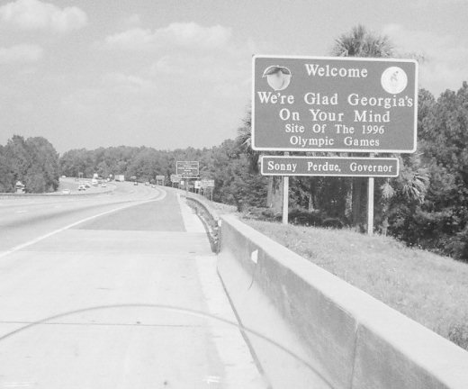 Florida/Georgia Border
