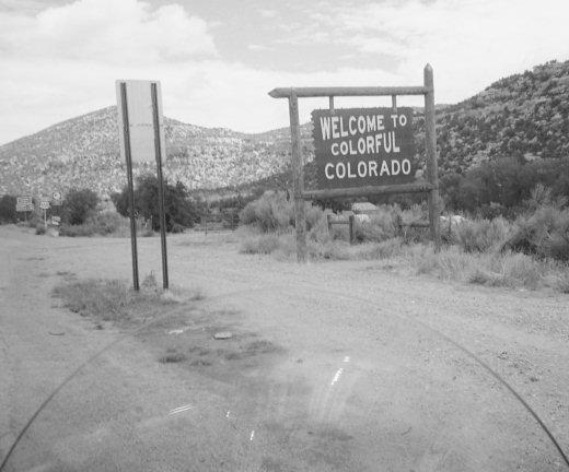 Colorado/New Mexico Border