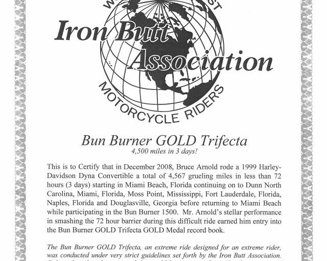 Bun Burner Gold Trifecta | BBG4500