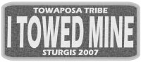 Biker Patches: Towaposa Tribe